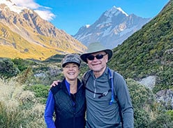 Adventure hiking tour in South Island