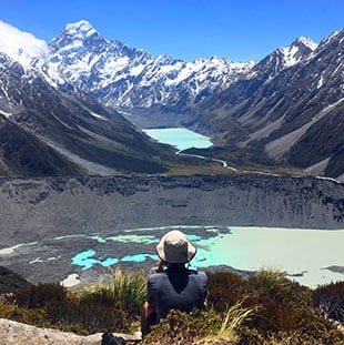 Hiking Mt Cook National Park, best hikes South Island