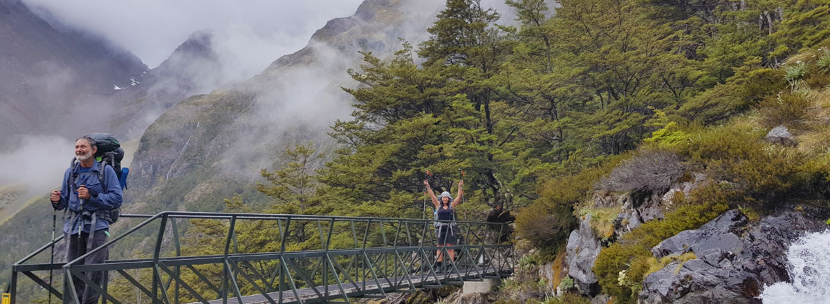 New ZealandTrails trip to angelus circuit nelson lakes national park