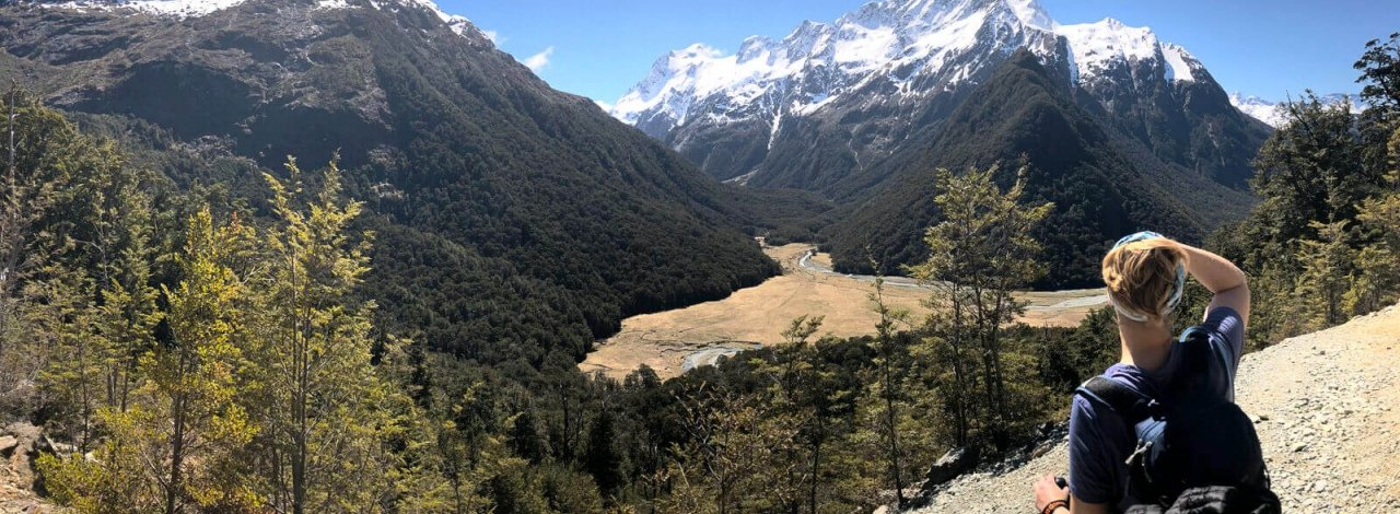 overlooking routeburn valley new zealand2