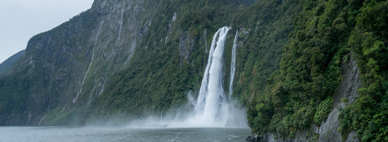 milford sound stirling falls