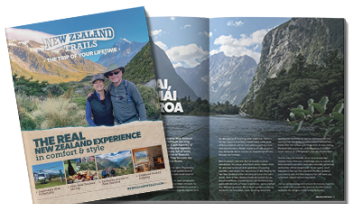 New Zealand Trails free brochure