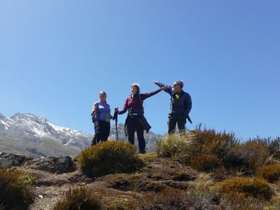 Routeburn Track Summit