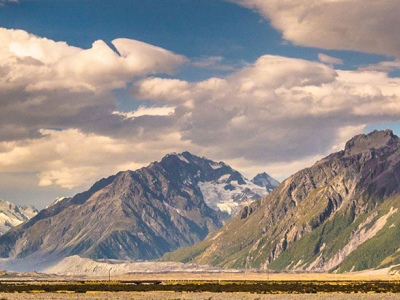 mt cook national park new zealand