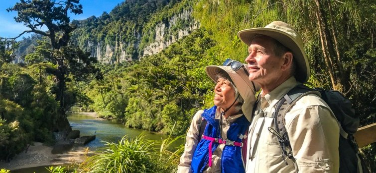 9 sunny days on the pororari river track
