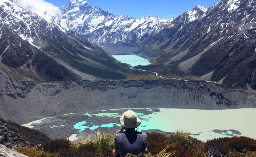 New zealand trails newsletter march 2015 new zealand trails mount cook sealy tarns 2 publicscrutiny Image collections