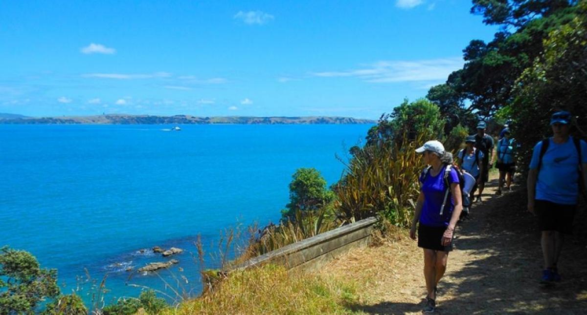 Ferry Crossing To Waiheke Island