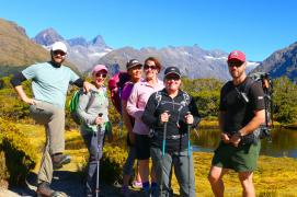 2 group routeburn track hiking fiordland2