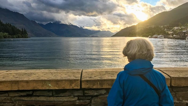 Sunset, Lake Wakatipu, Queenstown