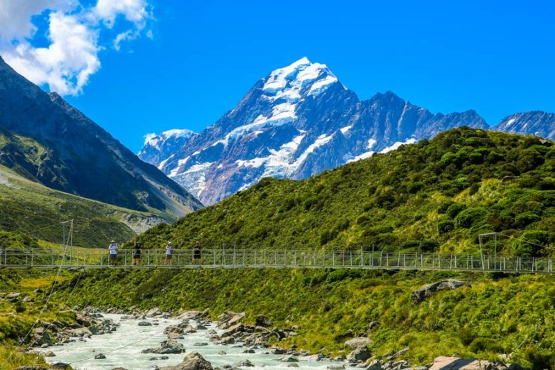 New Zealand Landmarks - Mount Cook