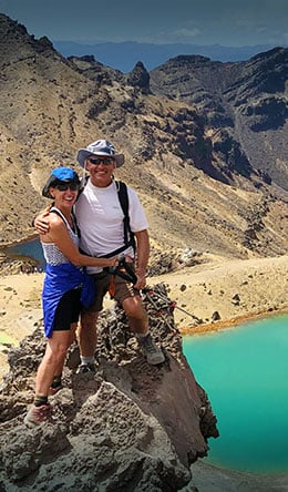 Tongariro Crossing on all inclusive trips to New Zealand