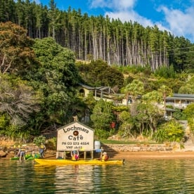 Lochmara Lodge, Marlborough Sounds New Zealand