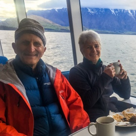 Cruise on Lake Wakatipu, Otago New Zealand