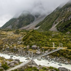 Hooker Valley Track, Canterbury New Zealand