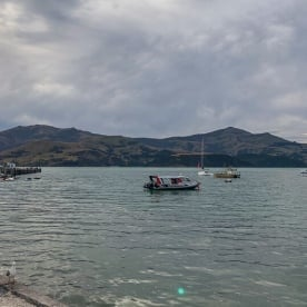 Akaroa Harbour, Canterbury New Zealand