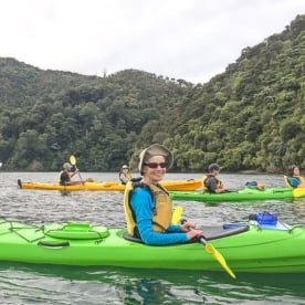 Kayaking the Marlborough Sounds, New Zealand