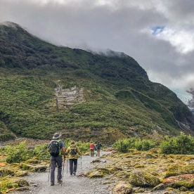 Walking the Fox Glacier Valley Track, West Coast New Zealand