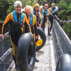 Rafting at Nile River, West Coast New Zealand