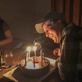 Birthday at Okarito, West Coast New Zealand