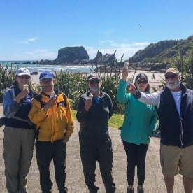 Group at Tauranga Bay, West Coast New Zealand