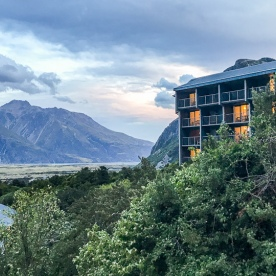 The Hermitage Hotel at Aoraki Mt Cook National Park, Canterbury New Zealand