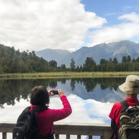 Lake Matheson, West Coast New Zealand