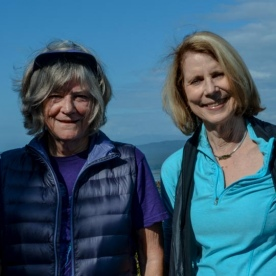 Ladies at Okarito Trig Lookout, West Coast New Zealand