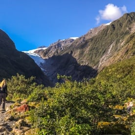 Fox Glacier Valley Track, West Coast New Zealand