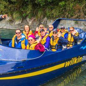Wilderness Jet Boat Trip, Dart River Queenstown Otago New Zealand