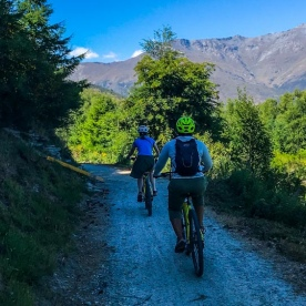 Biking the Queenstown Trail, Otago New Zealand