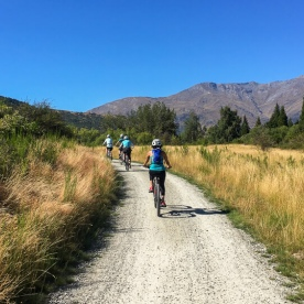 Cycling the Queenstown Trail, Otago New Zealand