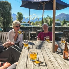 Drink at Glenorchy, Otago New Zealand