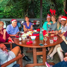 Christmas Celebration at Marlborough Sounds, New Zealand