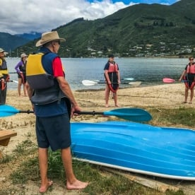 Kayaking Tour at Marlborough Sounds, New Zealand