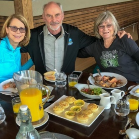 Breakfast at Te Anau Hotel, Fiordland National Park Southland New Zealand