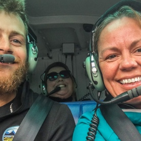 Helicopter Tour at Fiordland National Park Southland New Zealand