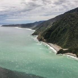 Helicopter Tour at Fiordland National Park, Southland New Zealand