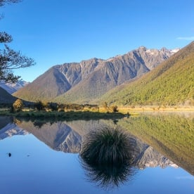 Sunrise at Lake Rotoiti, Tasman New Zealand