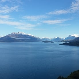 View of Mt Earnslaw and Lake Wakatipu