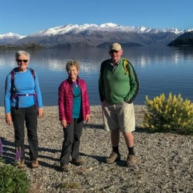 Guests at Lake Wanaka, Otago New Zealand
