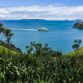 Ship from Waiheke Island, Auckland New Zealand