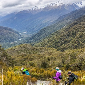 Key Summit Trail Hike, Fiordland New Zealand