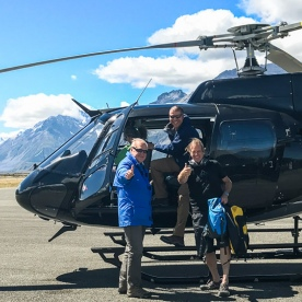 Helicopter Tour at Canterbury, New Zealand