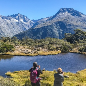 Key Summit Lookout Trail, Routeburn Track, Fiordland National Park Southland New Zealand