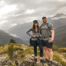 Couple the Key Summit Trail, Routeburn Track, Fiordland National Park Southland New Zealand