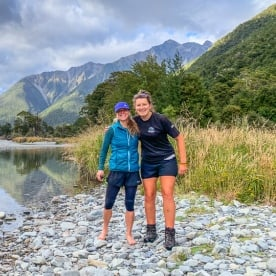 Guides at Travers river, Nelson Tasman New Zealand