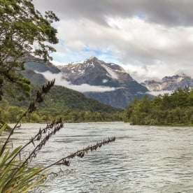 Lake Mckerrow, Fiordland New Zealand