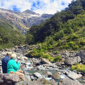 relaxing in arthurs pass