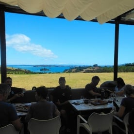 Lunch at Cable Bay Winery