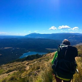 Check out this awesome view over Nelson Lakes National Park